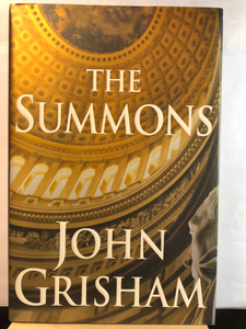 The Summons    by John Grisham     Used Hardcover