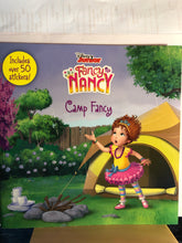 Load image into Gallery viewer, Fancy Nancy  Camp Fancy   by Laurie Israel  *STICKERS*