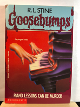 Load image into Gallery viewer, Piano Lessons Can Be Murder   by R.L. Stine   (Goosebumps #13)   used paperback