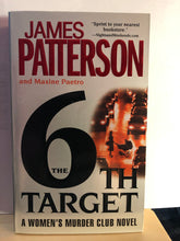 Load image into Gallery viewer, The 6th Target   by James Patterson      (Women's Murder Club #6)