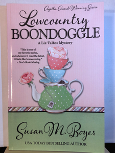 Lowcountry Boondoggle   by Susan M. Boyer     (Liz Talbot Mystery #9)   paperback