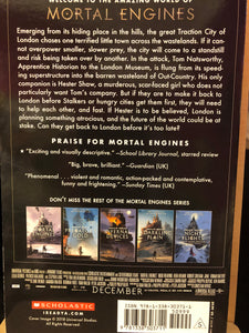 Mortal Engines (back cover)