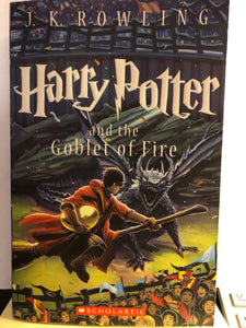 Harry Potter and the Goblet of Fire  by J.K. Rowling  (Harry Potter #4)