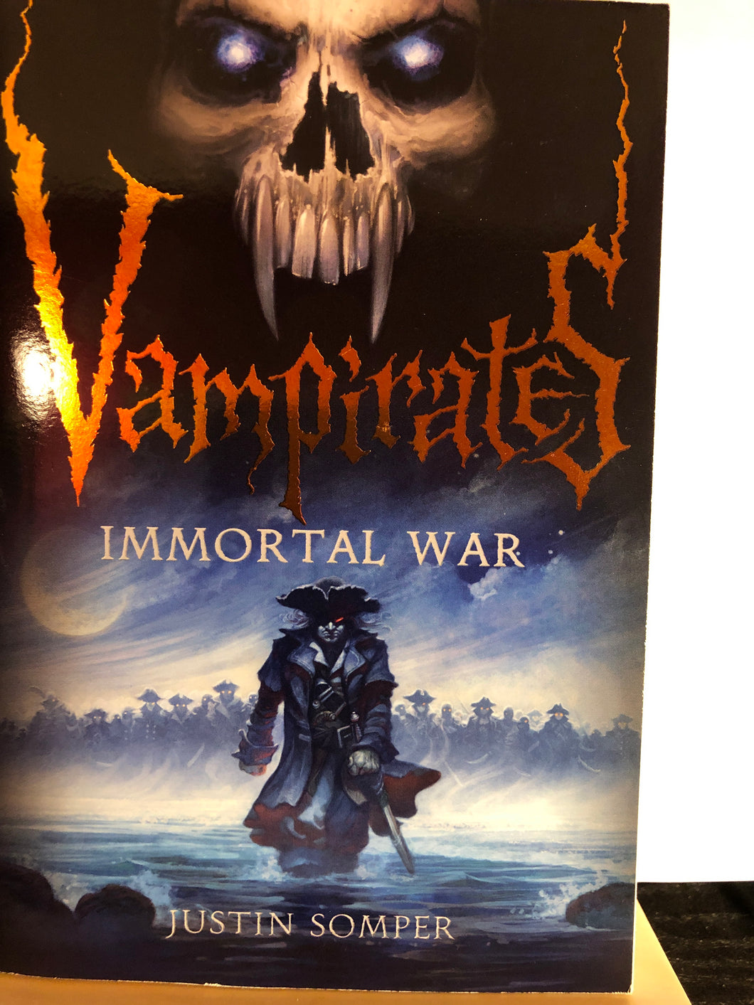 Immortal War  by Justin Somper  (Vampirates #6)
