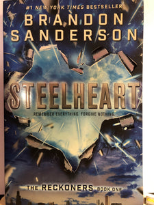 Steelheart  by Brandon Sanderson  (The Reckoners #1)