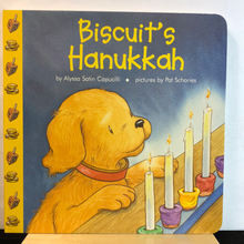 Load image into Gallery viewer, Biscuit's Hanukkah    by Alyssa Satin Capucilli    Board Book