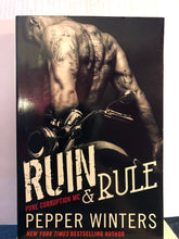 Load image into Gallery viewer, Ruin & Rule   by Pepper Winters    (Pure Corruption MC #1)