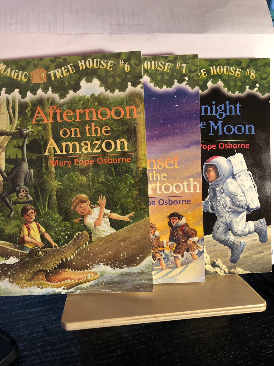 Magic Tree House Bundle  by Mary Pope Osborne  #6-8  (item:107)