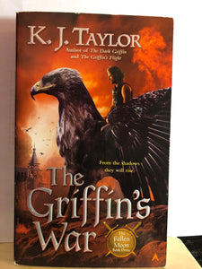 The Griffin's War   by K.J. Taylor   (The Fallen Moon #3)