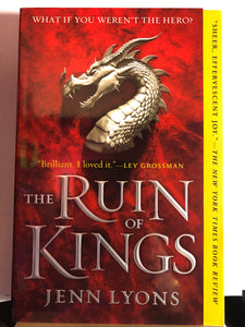 The Ruin of Kings   by Jenn Lyons   (A Chorus of Dragons #1)
