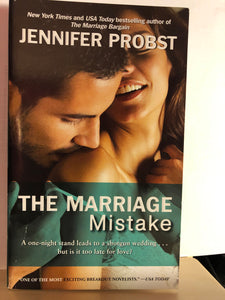 The Marriage Mistake    by Jennifer Probst     (Marriage to a Billionaire #3)