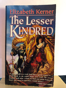 The Lesser Kindred      by Elizabeth Kerner       (The Tale of Lanen Kaelar #2)