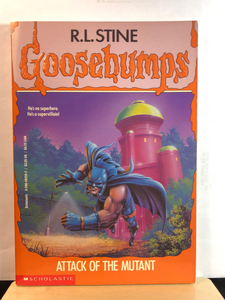 Attack of the Mutant   by R.L. Stine   (Goosebumps #25)   used paperback