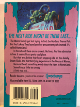 Load image into Gallery viewer, One Day at Horrorland    by R.L. Stine   (Goosebumps #16)   Used paperback