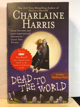 Load image into Gallery viewer, Dead to the World    by Charlaine Harris   (Sookie Stackhouse #4)     used paperback