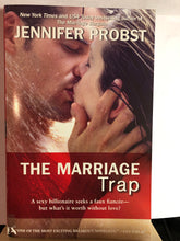 Load image into Gallery viewer, The Marriage Trap   by Jennifer Probst     (Marriage to a Billionaire #2)