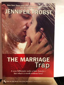 The Marriage Trap   by Jennifer Probst     (Marriage to a Billionaire #2)
