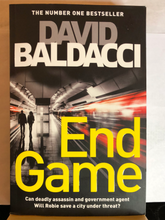 Load image into Gallery viewer, End Game    by David Baldacci    (Will Robie #5)    Used paperback