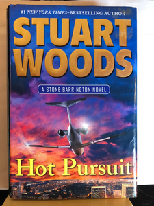 Hot Pursuit   by Stuart Woods    (Stone Barrington #33)    used hardcover