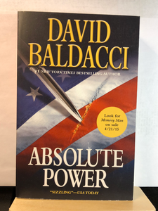 Absolute Power    by David Baldacci     remainder paperback