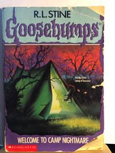 Load image into Gallery viewer, Welcome to Camp Nightmare   by R.L. Stine   (Goosebumps #9)