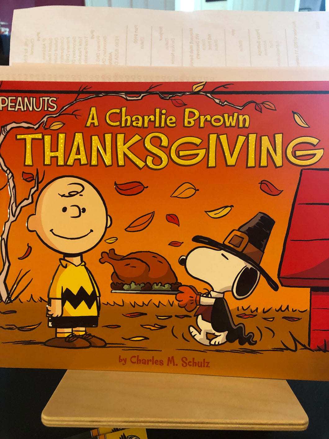 A Charlie Brown Thanksgiving    Peanuts    by Charles M. Schulz