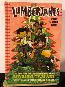 The Good Egg   by Mariko Tamaki    (LumberJanes #3)