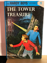 Load image into Gallery viewer, The Tower Treasure    by Franklin W. Dixon     (The Hardy Boys #1)   Hardcover