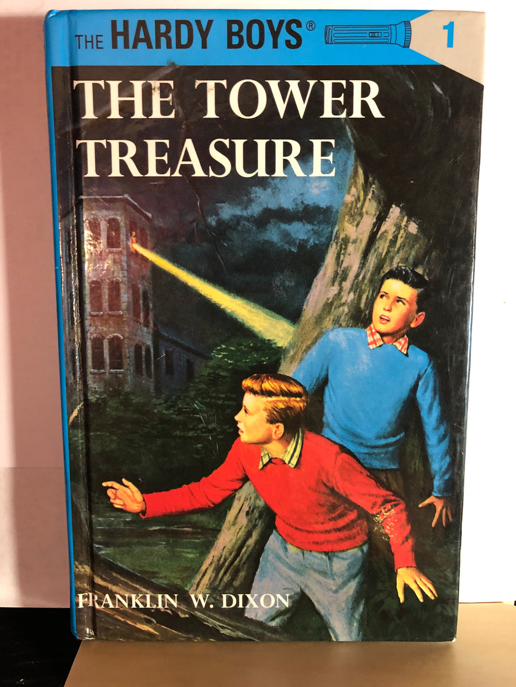 The Tower Treasure    by Franklin W. Dixon     (The Hardy Boys #1)   Hardcover