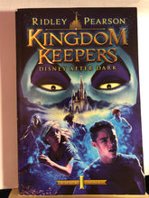 Load image into Gallery viewer, Disney After Dark   by Ridley Pearson   (Kingdom Keepers #1)