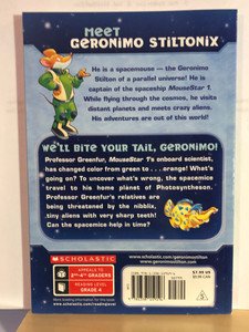 We'll Bite Your Tail, Geronimo!  by G. Stilton  (Geronimo Stilton Spacemice #11)   paperback