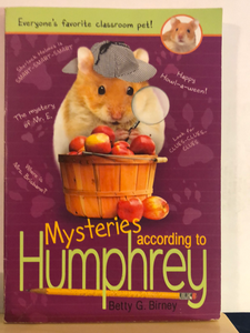 Mysteries According to Humphrey   by Betty G. Birney    (According to Humphrey #8)   used paperback