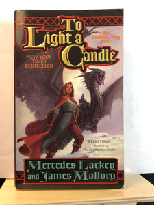 To Light A Candle  by Mercedes Lackey & James Mallory   (Obsidian Mountain #2)    Used paperback