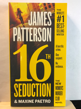 Load image into Gallery viewer, 16th Seduction   by James Patterson & Maxine Paetro     (The Women's Murder Club #16)