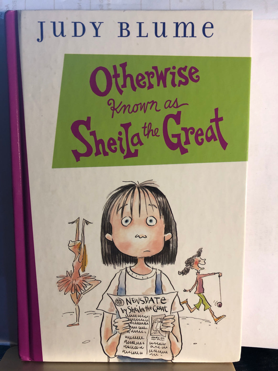 Otherwise Known as Sheila the Great   by Judy Blume    (Fudge #2)