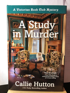A Study In Murder   by Callie Hutton    (A Victorian Book Club Mystery #1)