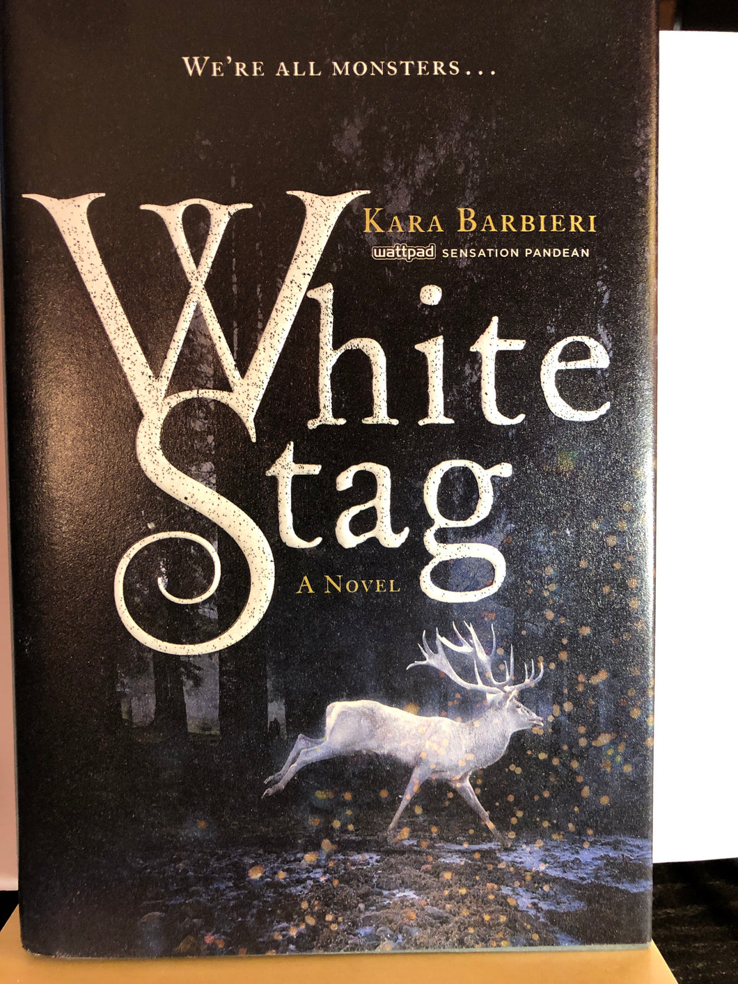 White Stag  by Kara Barbieri  (Permafrost #1)  Hardcover