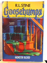 Load image into Gallery viewer, Monster Blood   by R.L. Stine   (Goosebumps #3)     Used paperback