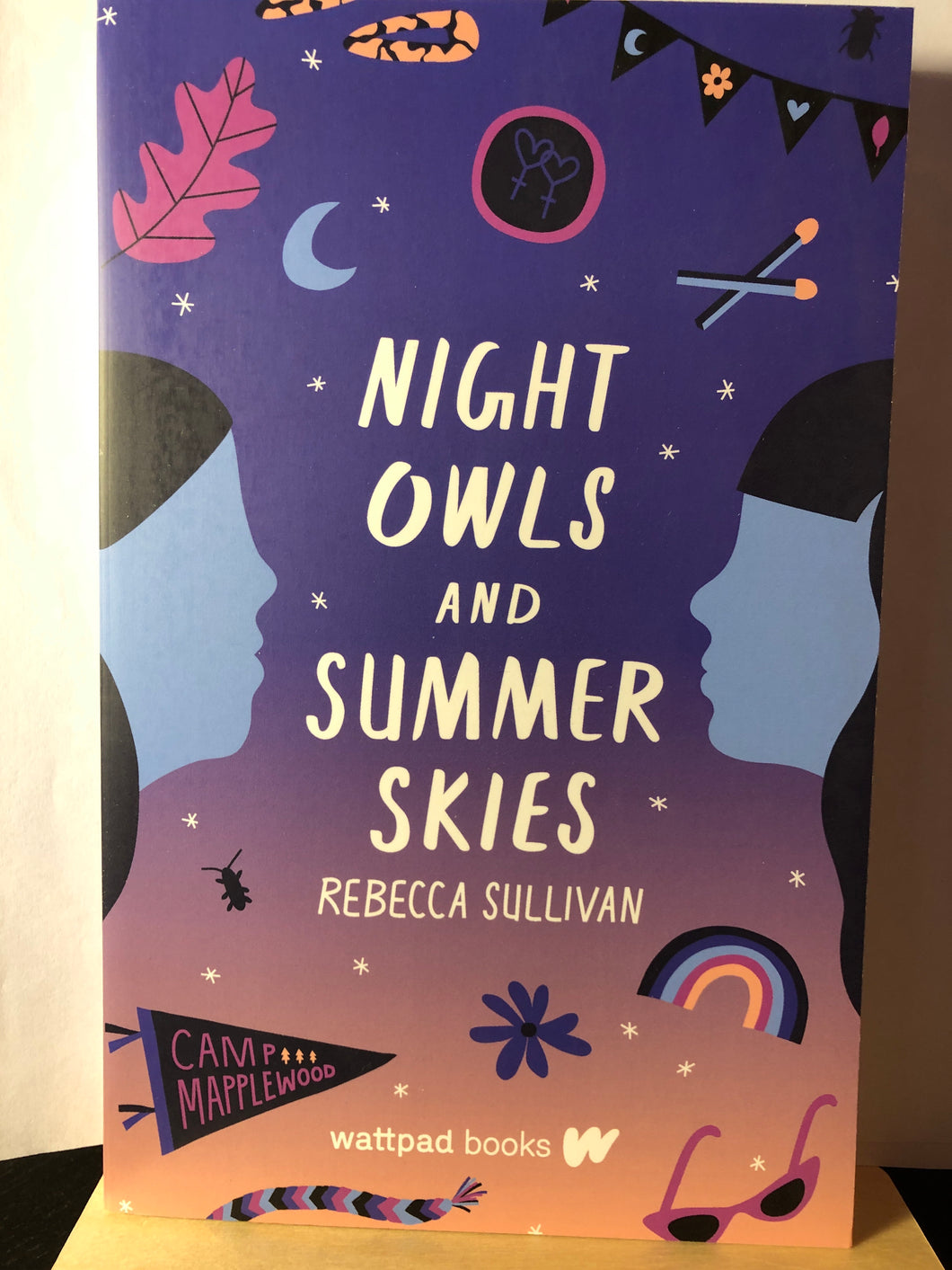 Night Owls and Summer Skies   by Rebecca Sullivan