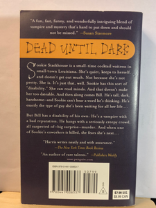 Dead Until Dark    by Charlaine Harris    (Sookie Stackhouse #1)    used paperback
