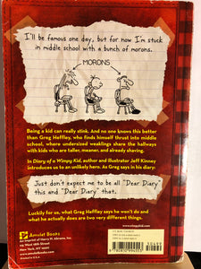 Diary of A Wimpy Kid*  paperback   by Jeff Kinney    (Diary of A Wimpy Kid #1)