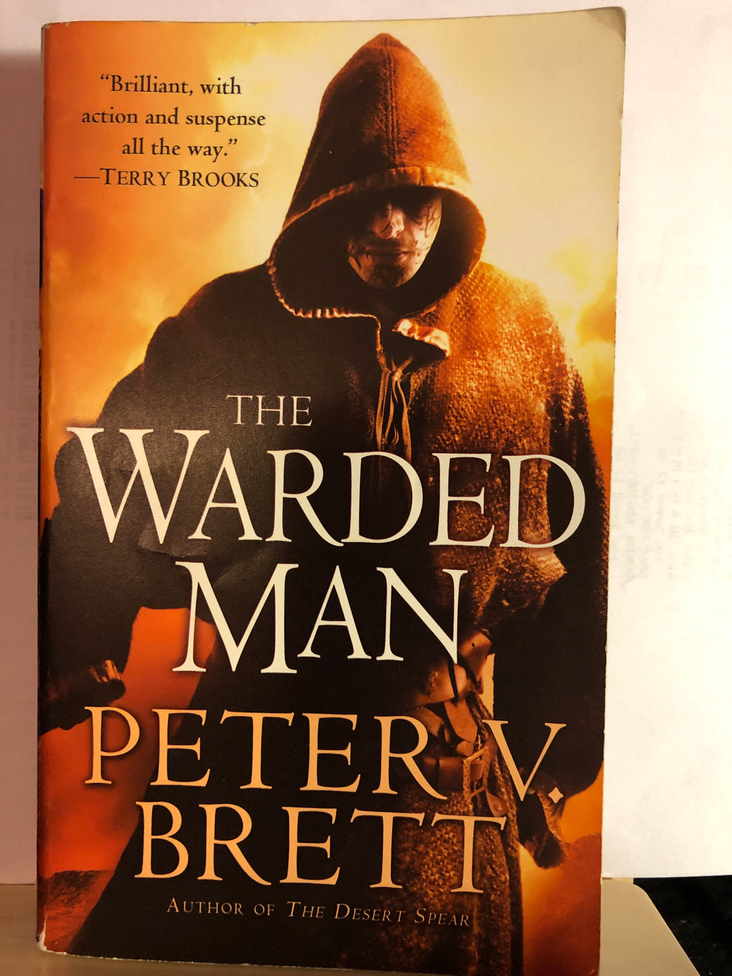 The Warded Man    by Peter V. Brett    (Demon Cycle #1)