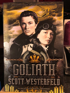 Goliath  by Scott Westerfield  (Leviathan #3)