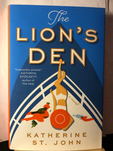 Load image into Gallery viewer, The Lion's Den   by Katherine St. John   Hardcover