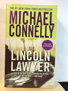 The Lincoln Lawyer    by Michael Connelly    (Mickey Haller #1)    used paperback