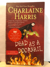 Load image into Gallery viewer, Dead as a Doornail     by Charlaine Harris   (Sookie Stackhouse #5)   used paperback