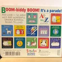 Load image into Gallery viewer, Christmas Parade   by Sandra Boynton    Board Book