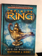 Load image into Gallery viewer, Cave of Wonders   by Matthew J. Kirby    (Infinity Ring #5)  Hardcover