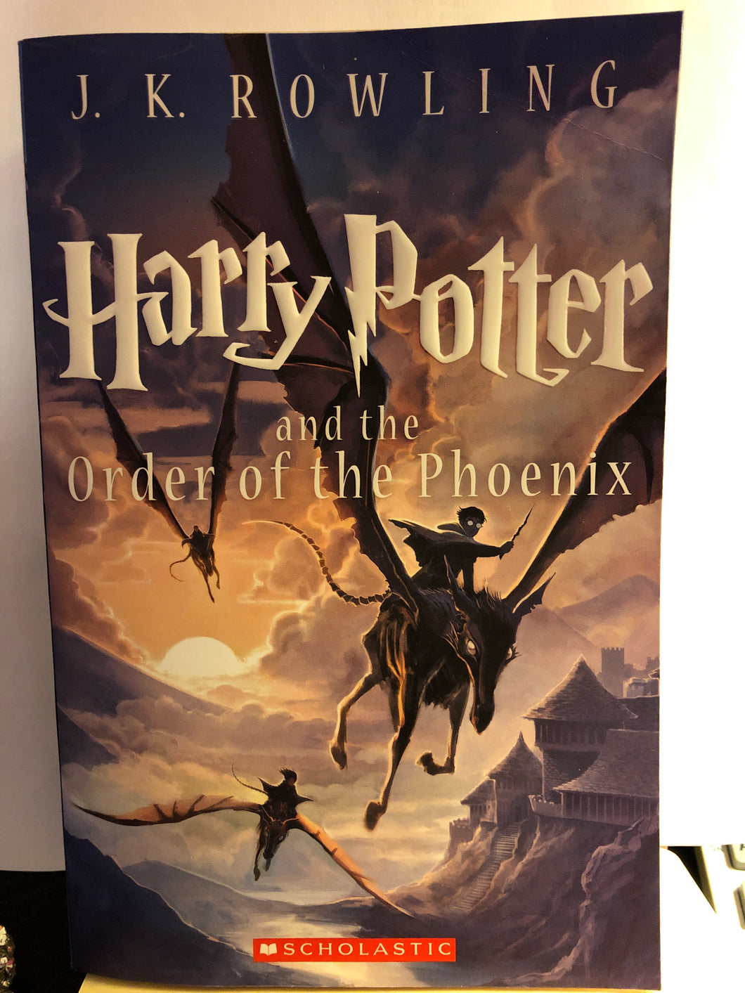 Harry Potter and the Order of the Phoenix  by J.K. Rowling  (Harry Potter #5)