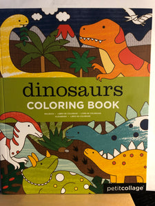 Dinosaurs Coloring Book    by Petit Collage